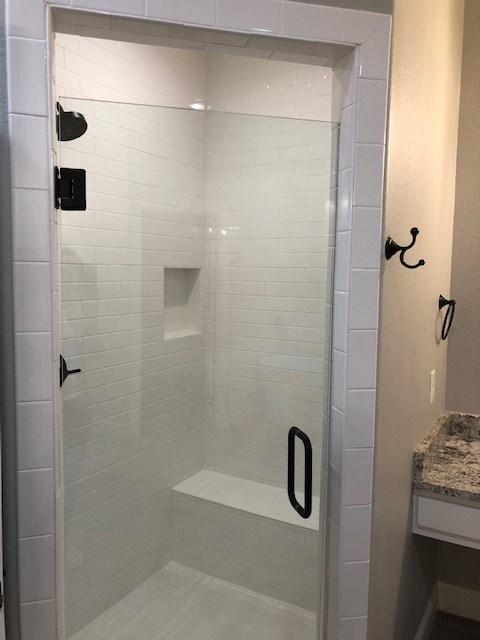 Master Shower View 1